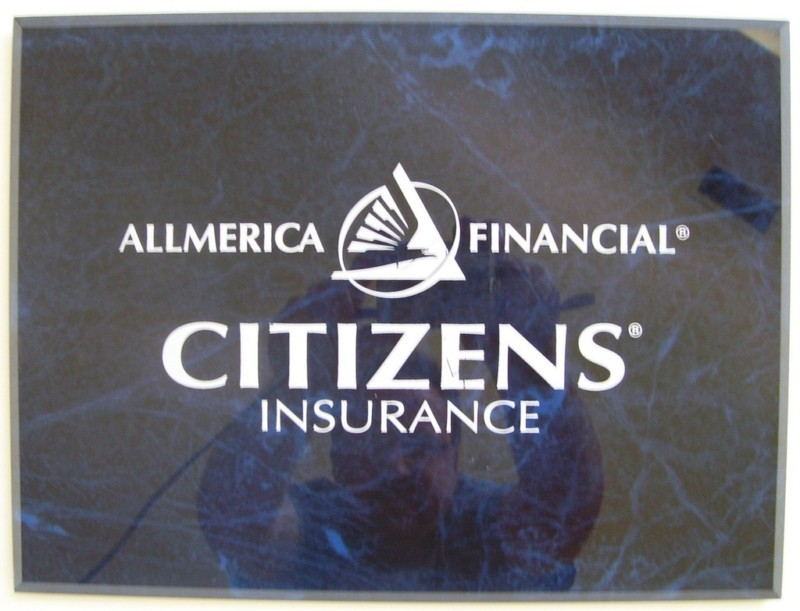 CITIZENS INSURANCE: Allmerica Financial-Hanover PLAQUE