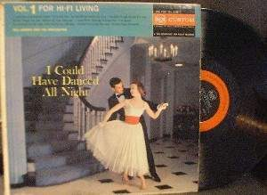 Hill Bowen - I Could have Danced All Night - RCA Custom RAL 1001