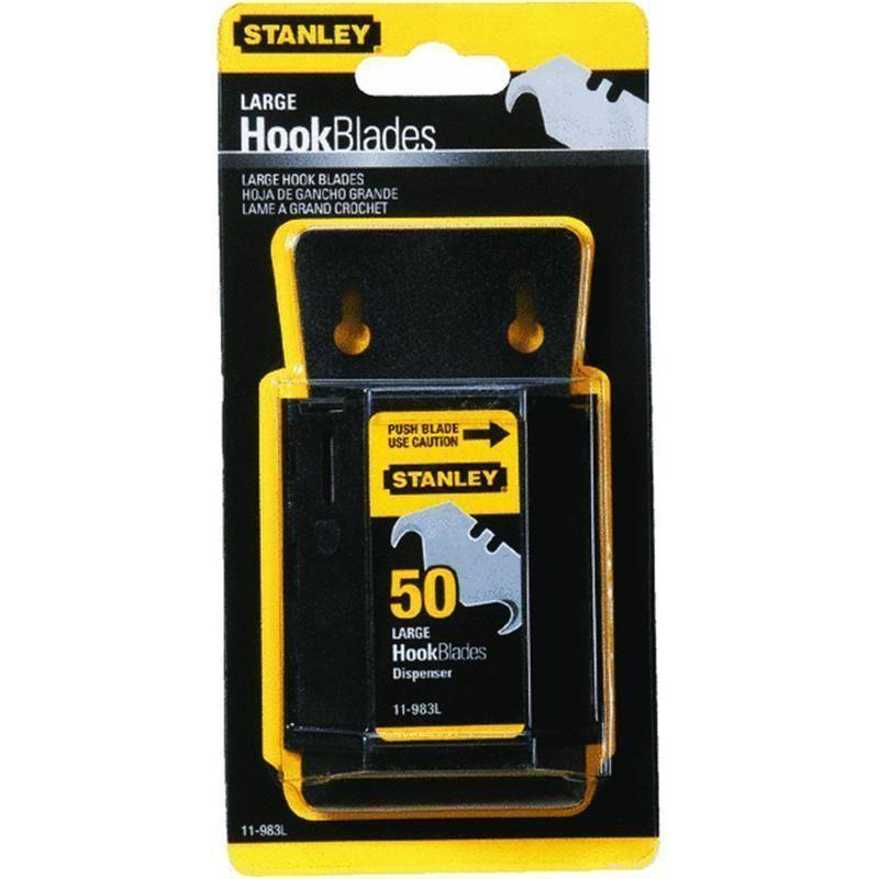 Stanley 41 pieces lrg hook blades