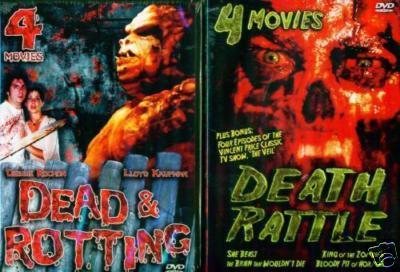 DEAD ROTTING/DEATH RATTLE Debbie Rochon/New 8 Film 4DVD