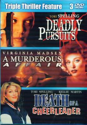 DEATH CHEERLEADER- Murderous Affair- Pursuit- NEW 3 DVD