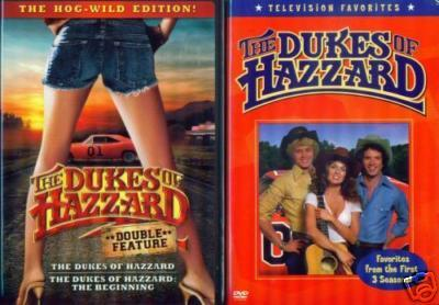 DUKES OF HAZZARD 1&2-Beginning + TV Favorites NEW 2 DVD