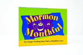 Mormon Mouthful Mouthful of Fun Latter-day Saints Tongue Twisting Card Game - $16.95