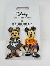 Disney Halloween 2021 Baublebar Mickey And Minnie Costume Earrings NWT - $79.19