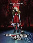 WHAT EVER HAPPENED TO ALICE Linda Larson Horror NEW DVD
