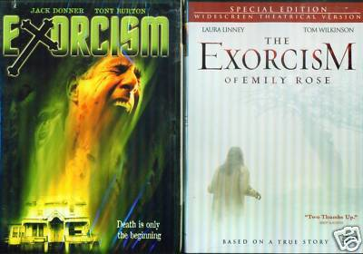 EXORCISM & Exorcism of Emily Rose / Demons - NEW 2 DVD