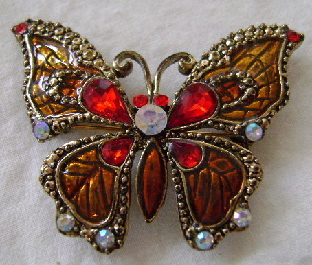 Pin, Butterfly byTwo Sisters, New in Package