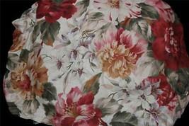 Ralph Lauren Post Road Bold Shabby Floral Full Bedskirt Nip Msrp $135 Disc - $48.99