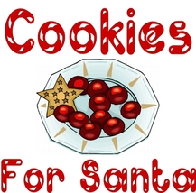 """Cookies For Santa"" Children's Apron For The Ho... - $9.85"
