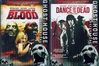 GHOST HOUSE: Dance Of Dead-Brotherhood Blood NEW 2 DVD