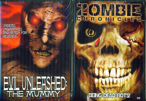 GRINDHOUSE Evil Unleashed Mummy-Zombie Chronicles 2-3D