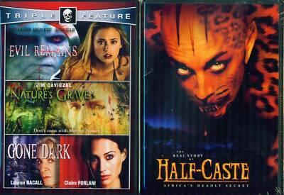HALF CASTE-Evil Remains-Nature's Grace-Gone Dark N 2DVD