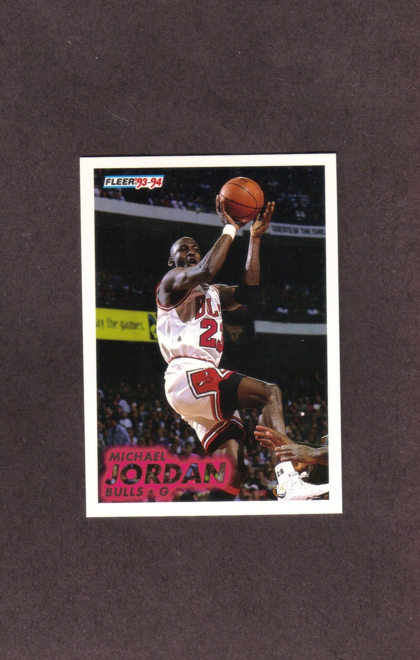 1993-94 Fleer # 28 Michael Jordan Chicago Bulls