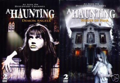 HAUNTING Demon Angels & House of Fear 4 NEW DVD SET