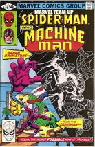 Marvel Team-Up Comic Book #99 Spider-Man and Machine Man, 1980 VERY FINE- - $2.75