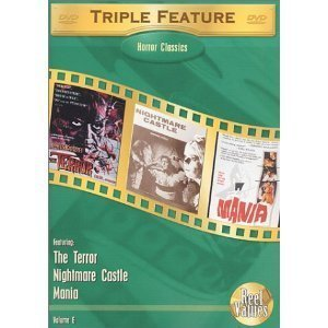 HORROR CLASSICS: Terror-Nightmare Castle-Mania NEW DVD