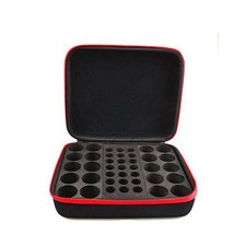Essential Oil Box - 41 Slots. Best For 5ml 10ml And 15ml Drams(Red) image 2