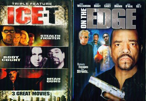 ICE-T Stealth-Body Count-Mean Guns-On Edge NEW 4 DVD