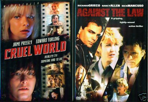JAIME PRESSLY: Against Law / Cruel - HOT NEW 2 DVD