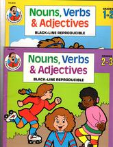 Nouns, Verbs & Adjectives  - Two Work books - $5.75