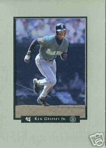 KEN GRIFFEY JR This is my Life 5X7 Stand Up BASEBALL CA