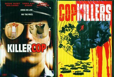 KILLER COP: Cop Killers-Both Sides of the Law NEW 2 DVD