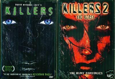 KILLERS 1 & 2: Beast/Cult Terror-Kim Little NEW 2 DVD