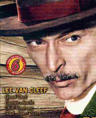 LEE VAN CLEEF: Duel/Cpt. Apache/Kid/Bad Man - NEW 2 DVD