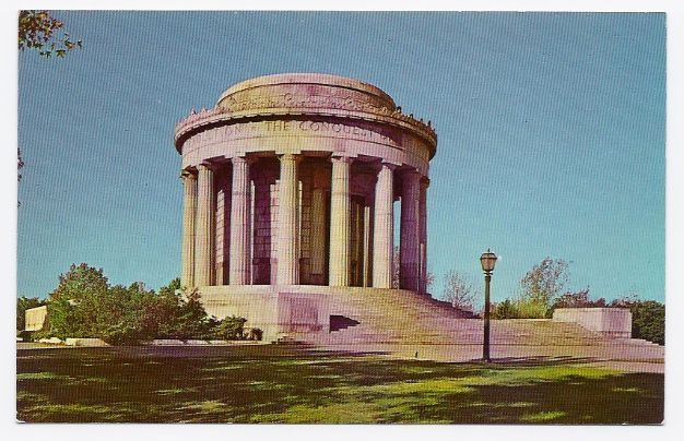 Primary image for c1950s George Rogers Clark Federal Memorial - Vincennes IN - Unused