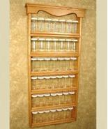 Wall Mounted Spice Rack -