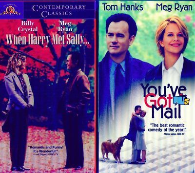 MEG RYAN: When Harry Met Sally+You've Got Mail-NEW VHS