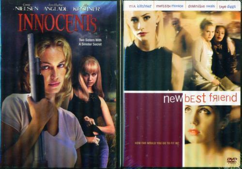 MIA KIRSHNER Innocents / New Best Friend NEW 2 DVD's