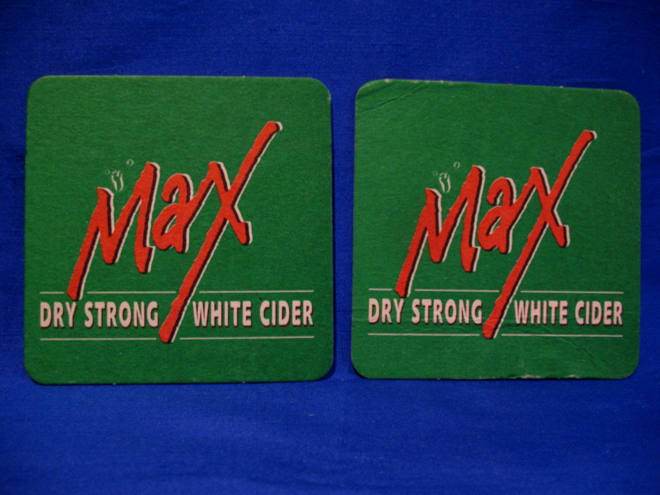 Max Dry Strong White Cider Drink Beer Coasters Souvenir Set