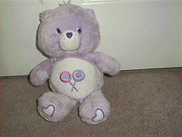 "CARE BEARS * SHARE BEAR * PLUSH 2003 12"" TALL CUTE - $14.96"