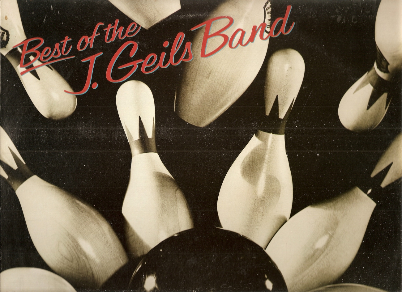 LP--J.geils Band 	The Best Of