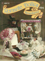 Romantic Doilies Remembered Craft Projects Leaflet for pre-made doilies - $7.95