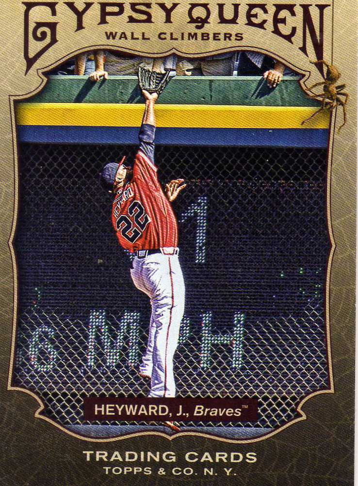 2011 Topps Gypsy Queen Wall Climbers Jason Heyward Braves