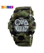 SKMEI Outdoor Sport Watch Men Alarm Clock 5Bar Waterproof Military Watch... - $28.24