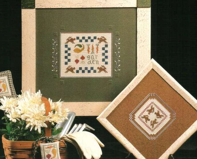 Primary image for Garden Harvest cross stitch chart Heart in Hand