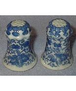 Blue Onion Pattern Salt and Pepper Shaker Set - $15.00