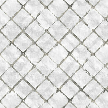 Chicken Wire Wallpaper Grey, Black Norwall Wallcovering FH37552 - $42.56