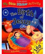 The Birth of Jesus (My Bible Sticker Activity) [Paperback] - $9.85