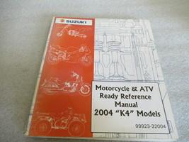 """Suzuki 2005 """"K4"""" Motorcycle & ATV Ready Reference Manual P/N 99923-32004 - $6.76"""