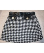 Kate and Ashley Girls Houndstooth Skirt Size 6x - $7.00