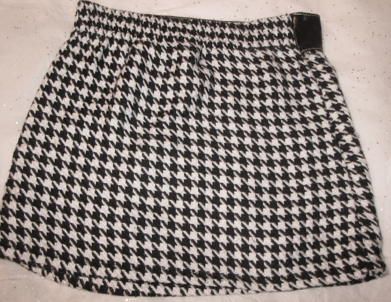 Kate and Ashley Girls Houndstooth Skirt Size 6x