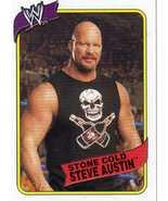 WWE Topps Heritage III Stone Cold Steve Austin card WWF TNA - $2.00