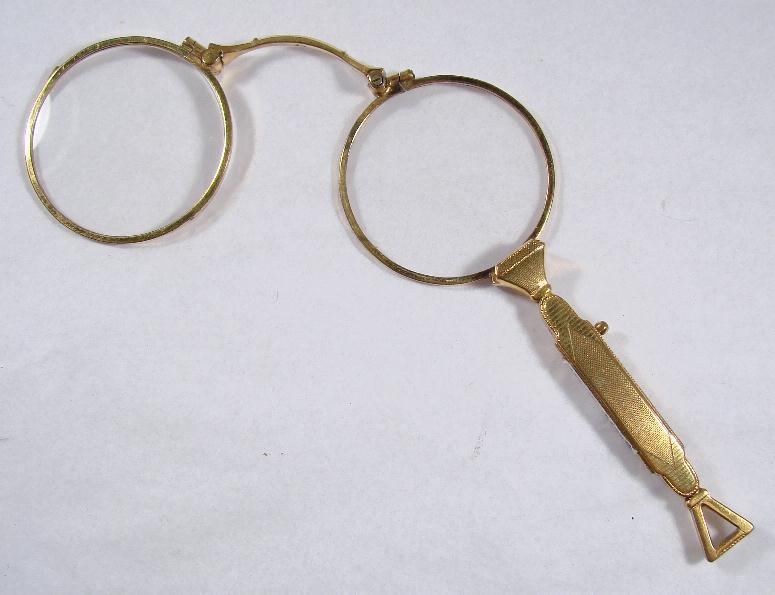 ART DECO LORGNETTE - NEW LENSES
