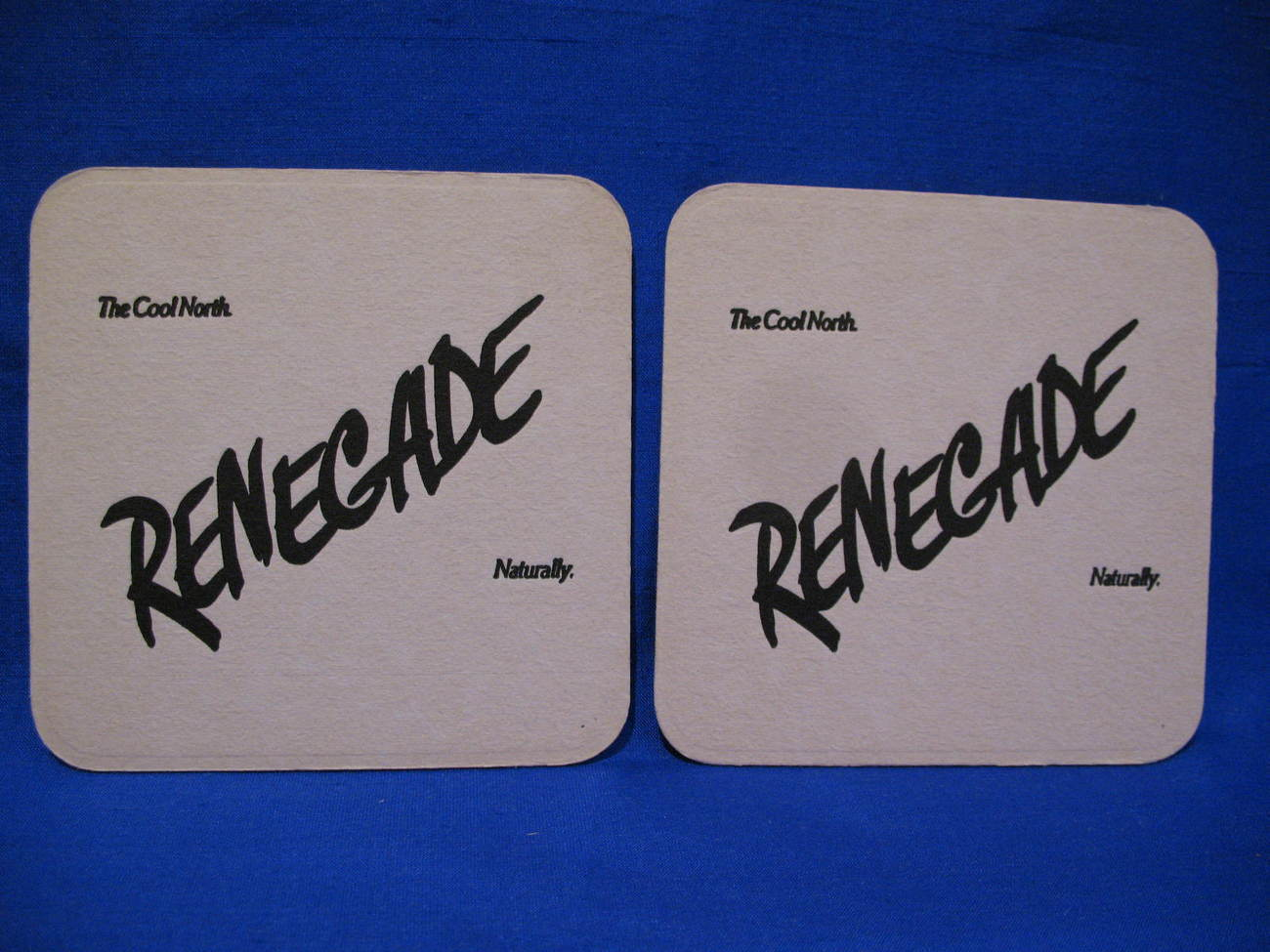 Renegade Beer Coasters Souvenir set of 2