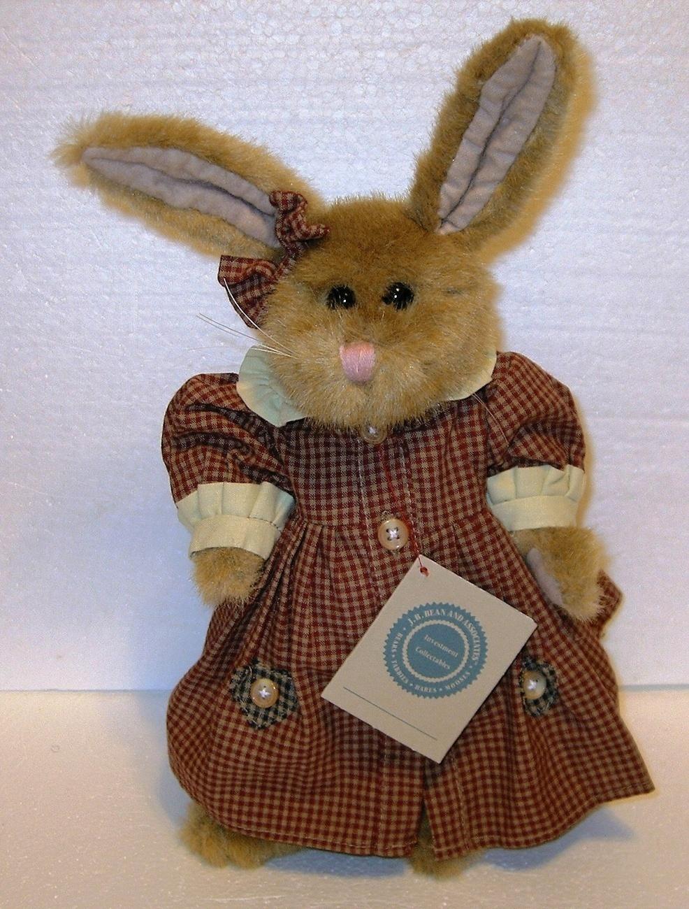 Boyds rabbit hare bunny golden tan bonanzle
