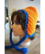 Women's Warm Winter Crochet Hat, Syracuse University (SU) Orange & Blue ... - $6.00